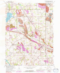 Download a high-resolution, GPS-compatible USGS topo map for New Middletown, OH (1992 edition)