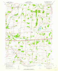 Download a high-resolution, GPS-compatible USGS topo map for New Moorefield, OH (1962 edition)