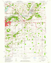 Download a high-resolution, GPS-compatible USGS topo map for New Paris, OH (1961 edition)
