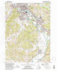 Download a high-resolution, GPS-compatible USGS topo map for New Philadephia, OH (1998 edition)