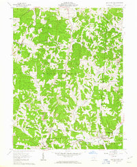 Download a high-resolution, GPS-compatible USGS topo map for New Plymouth, OH (1963 edition)
