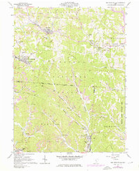 Download a high-resolution, GPS-compatible USGS topo map for New Straitsville, OH (1976 edition)