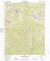 Download a high-resolution, GPS-compatible USGS topo map for New Straitsville, OH (1985 edition)