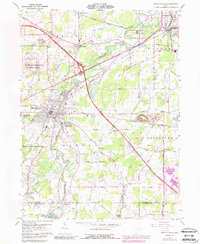 Download a high-resolution, GPS-compatible USGS topo map for Newton Falls, OH (1988 edition)