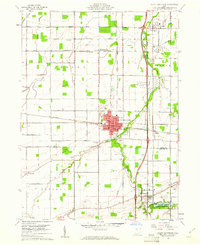 Download a high-resolution, GPS-compatible USGS topo map for North Baltimore, OH (1961 edition)