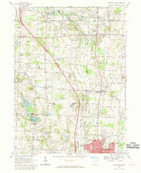 Download a high-resolution, GPS-compatible USGS topo map for North Canton, OH (1970 edition)