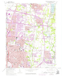 Download a high-resolution, GPS-compatible USGS topo map for Northeast Columbus, OH (1974 edition)