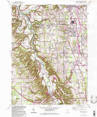 Download a high-resolution, GPS-compatible USGS topo map for Northfield, OH (1997 edition)