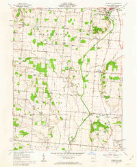 Download a high-resolution, GPS-compatible USGS topo map for Northville, OH (1962 edition)