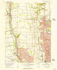 Download a high-resolution, GPS-compatible USGS topo map for Northwest Columbus, OH (1956 edition)