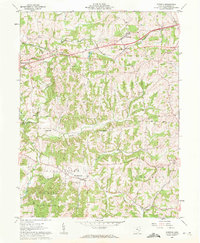 Download a high-resolution, GPS-compatible USGS topo map for Norwich, OH (1963 edition)