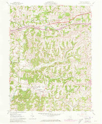Download a high-resolution, GPS-compatible USGS topo map for Norwich, OH (1973 edition)