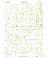 Download a high-resolution, GPS-compatible USGS topo map for Nova, OH (1974 edition)