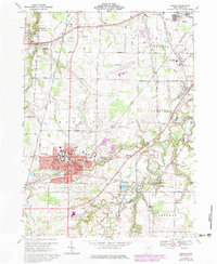 Download a high-resolution, GPS-compatible USGS topo map for Oberlin, OH (1979 edition)