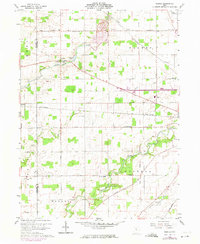 Download a high-resolution, GPS-compatible USGS topo map for Oceola, OH (1974 edition)