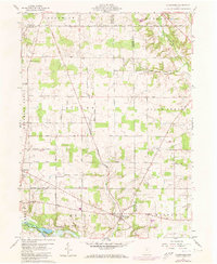 Download a high-resolution, GPS-compatible USGS topo map for Olivesburg, OH (1973 edition)