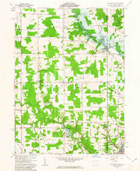 Download a high-resolution, GPS-compatible USGS topo map for Orangeville, OH (1963 edition)