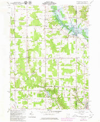 Download a high-resolution, GPS-compatible USGS topo map for Orangeville, OH (1980 edition)