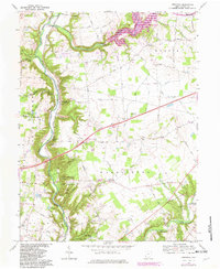 Download a high-resolution, GPS-compatible USGS topo map for Oregonia, OH (1982 edition)