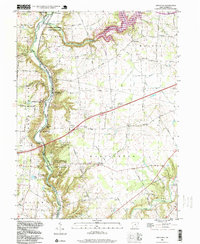 Download a high-resolution, GPS-compatible USGS topo map for Oregonia, OH (1999 edition)