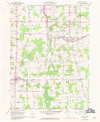 Download a high-resolution, GPS-compatible USGS topo map for Orwell, OH (1971 edition)