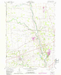 Download a high-resolution, GPS-compatible USGS topo map for Ostrander, OH (1988 edition)