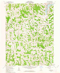 Download a high-resolution, GPS-compatible USGS topo map for Otsego, OH (1963 edition)
