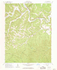 Download a high-resolution, GPS-compatible USGS topo map for Otway, OH (1970 edition)