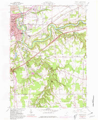 Download a high-resolution, GPS-compatible USGS topo map for Painesville, OH (1981 edition)