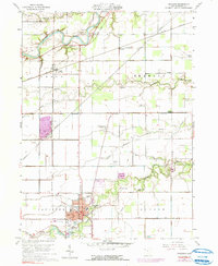 Download a high-resolution, GPS-compatible USGS topo map for Paulding, OH (1991 edition)