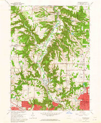 Download a high-resolution, GPS-compatible USGS topo map for Peninsula, OH (1965 edition)