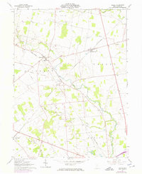 Download a high-resolution, GPS-compatible USGS topo map for Peoria, OH (1974 edition)