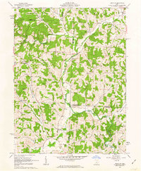 Download a high-resolution, GPS-compatible USGS topo map for Perryton, OH (1963 edition)