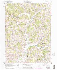 Download a high-resolution, GPS-compatible USGS topo map for Perryton, OH (1978 edition)