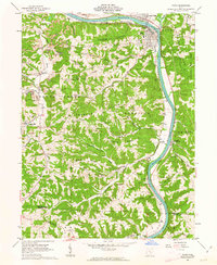 Download a high-resolution, GPS-compatible USGS topo map for Philo, OH (1963 edition)