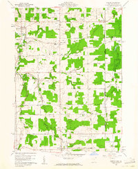 Download a high-resolution, GPS-compatible USGS topo map for Pierpont, OH (1961 edition)