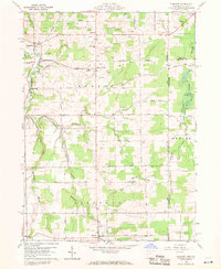 Download a high-resolution, GPS-compatible USGS topo map for Pierpont, OH (1970 edition)