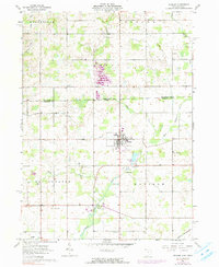 Download a high-resolution, GPS-compatible USGS topo map for Pioneer, OH (1990 edition)
