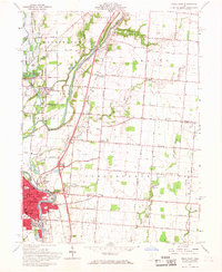 Download a high-resolution, GPS-compatible USGS topo map for Piqua East, OH (1968 edition)