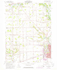 Download a high-resolution, GPS-compatible USGS topo map for Piqua West, OH (1974 edition)