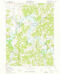 Download a high-resolution, GPS-compatible USGS topo map for Plainfield, OH (1976 edition)