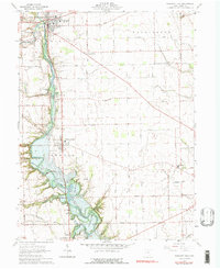 Download a high-resolution, GPS-compatible USGS topo map for Pleasant Hill, OH (1976 edition)