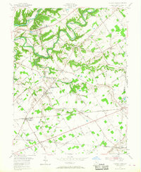 Download a high-resolution, GPS-compatible USGS topo map for Pleasant Plain, OH (1968 edition)