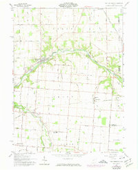 Download a high-resolution, GPS-compatible USGS topo map for Port Jefferson, OH (1974 edition)