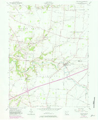 Download a high-resolution, GPS-compatible USGS topo map for Port William, OH (1982 edition)