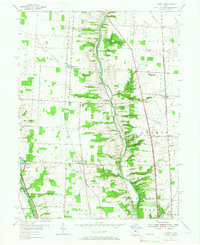 Download a high-resolution, GPS-compatible USGS topo map for Powell, OH (1967 edition)