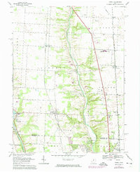 Download a high-resolution, GPS-compatible USGS topo map for Powell, OH (1974 edition)
