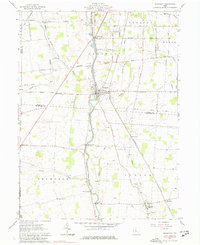 Download a high-resolution, GPS-compatible USGS topo map for Prospect, OH (1977 edition)