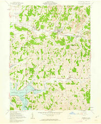 Download a high-resolution, GPS-compatible USGS topo map for Quaker City, OH (1963 edition)