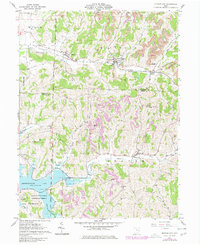 Download a high-resolution, GPS-compatible USGS topo map for Quaker City, OH (1977 edition)